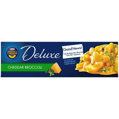 Kraft Cheddar Broccoli Macaroni & Cheese Dinner