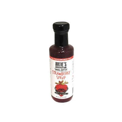 Arties Harvest Strawberry Syrup
