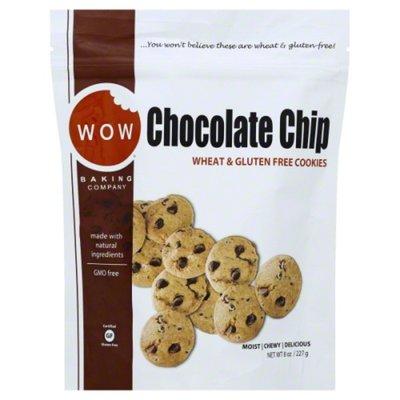 WOW Baking Company Cookies, Wheat & Gluten Free, Chocolate Chip