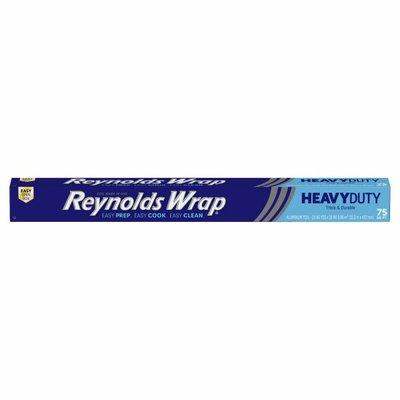 Reynolds Wrap Aluminum Foil, Thick & Durable, Heavy Duty, 75 Square Feet