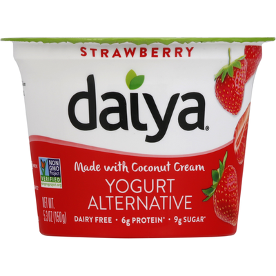 Daiya Dairy Free Greek Yogurt Strawberry