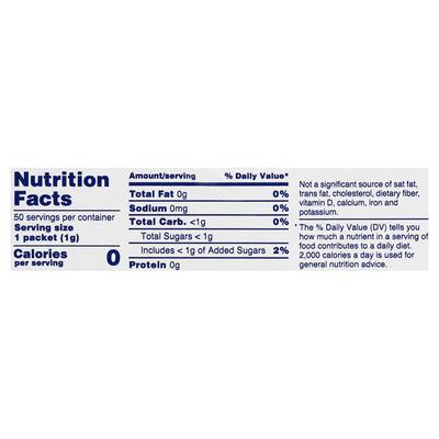 Splenda Sweeteners, Zero Calorie, Packets