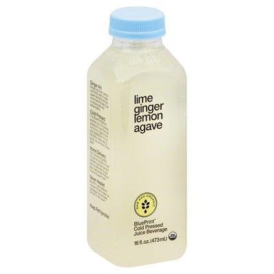 BluePrint Lime, Ginger, Lemon, Agave, Bottle