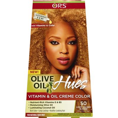 Ors Vitamin & Oil Creme Color, Light Golden Blonde 50
