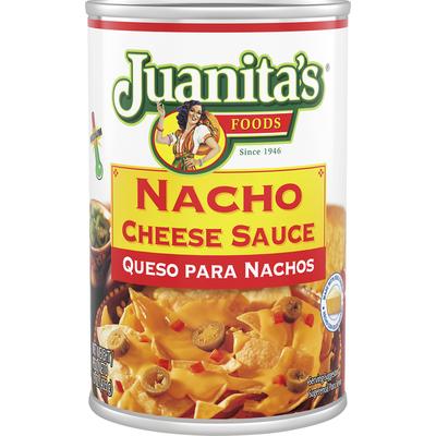 Juanita's Foods Cheese Sauce, Nacho, Medium