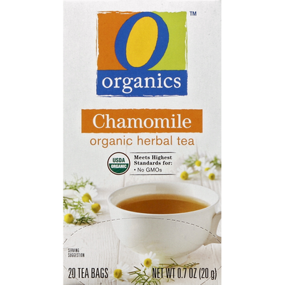 O Organics Herbal Tea, Organic, Chamomile