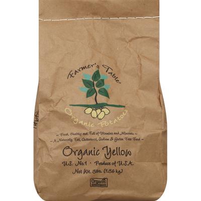 Farmers Table Organic Gold Potatoes, Bag