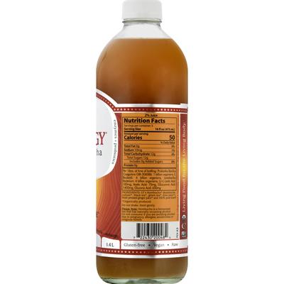 GTs Raw Kombucha, Gingerade