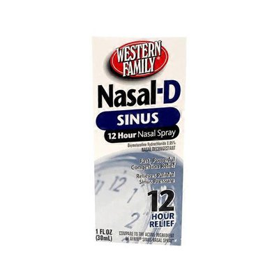 Western Family Nasal-D Sinus Spray