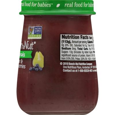 Beech-Nut Naturals Pear & Blueberries
