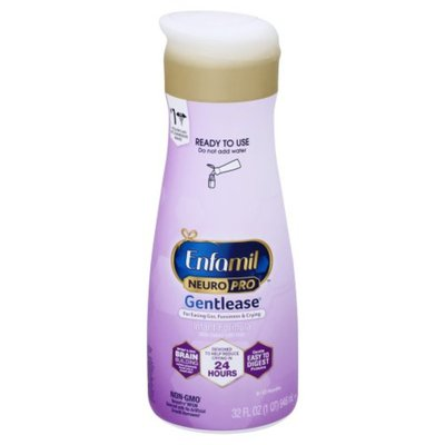 Enfamil® NeuroPro Gentlease Baby Formula Liquid, for Fussiness, Gas & Crying, Ready-to-Use Bottle