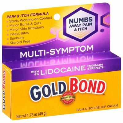 Gold Bond Pain & Itch Relief, Multi-Symptom, Maximum Strength, Cream