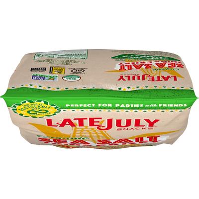 LATE JULY® Snacks Sea Salt Thin & Crispy Tortilla Chips
