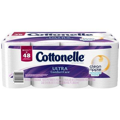 Cottonelle Ultra ComfortCare Double Rolls Toilet Paper