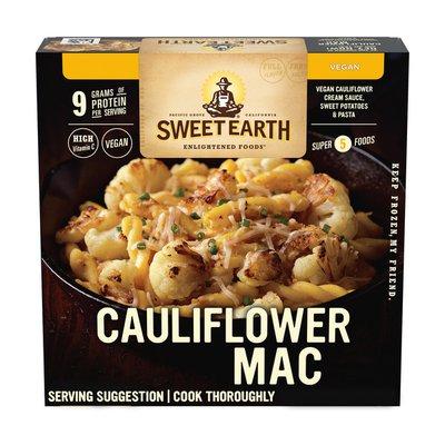 Sweet Earth Cauliflower Mac Bowl Frozen Dinner