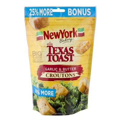 New York Bakery Texas Toast Croutons Garlic & Butter