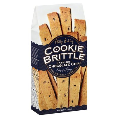 Holly Baking Cookie Brittle, Hazelnut Chocolate Chip, Box