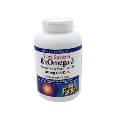 Natural Factors Pharmaceutical Grade Fish Oil