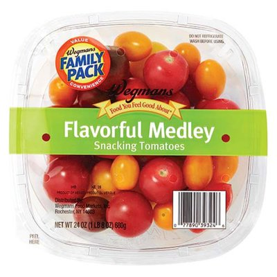 Wegmans Food You Feel Good About Flavorful Medley Snacking Tomatoes,  FAMILY PACK
