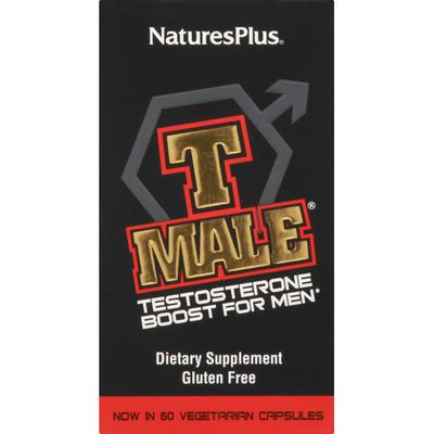 NaturesPlus Testosterone, Vegetarian Capsules