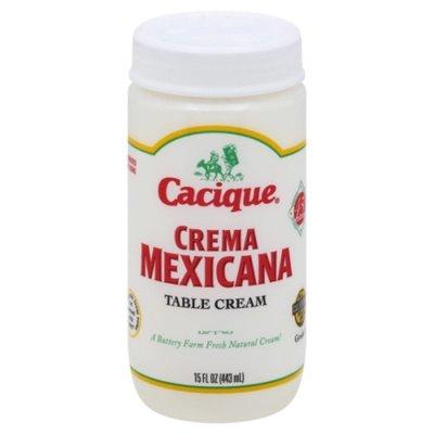 Cacique Table Cream, Creama Mexicana