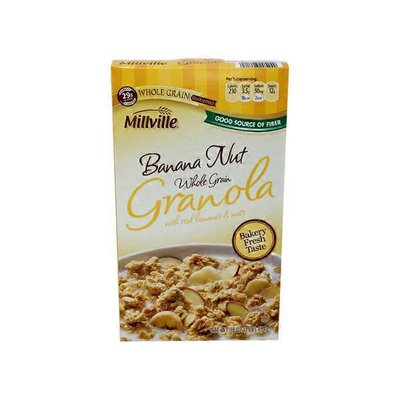 Millville Banana Nut Granola