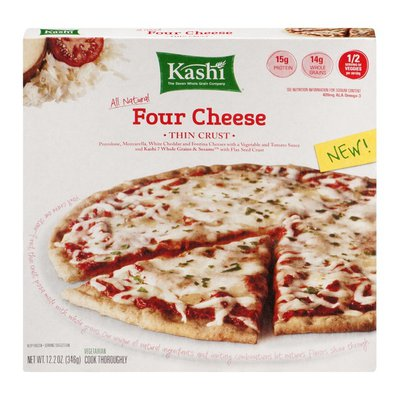 Kashi All Natural Four Cheese Thin Crust Pizza