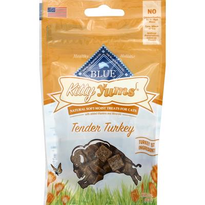 Blue Treats for Cats, Natural Soft-Moist, Tender Turkey