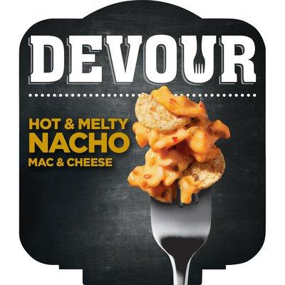 Devour Hot & Melty Nacho Mac & Cheese Bowl Dinner Kit