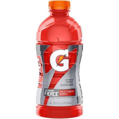 Gatorade Fierce Fruit Punch+Berry Thirst Quencher Sports Drink