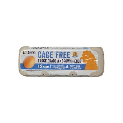 Goldhen Cage Free Large Grade A Brown Eggs