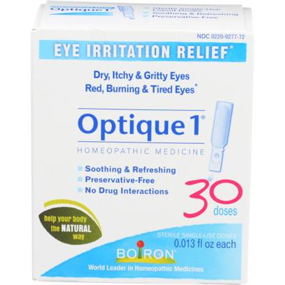 Boiron Optique 1 Eye Drops, Eye Irritation Relief