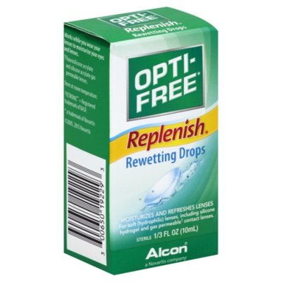 OPTI-FREE Rewetting Drops