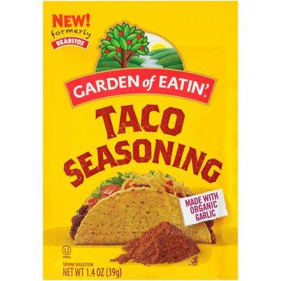 Garden of Eatin' Taco Seasoning