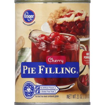 Kroger Cherry Pie Filling