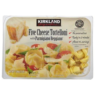Kirkland Signature Five Cheese Tortelloni, 2 x 24 oz