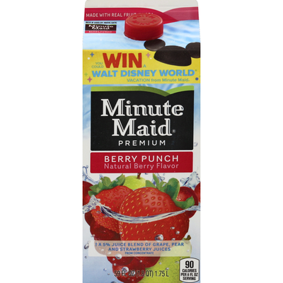Minute Maid Berry Punch Flavored Fruit Juice
