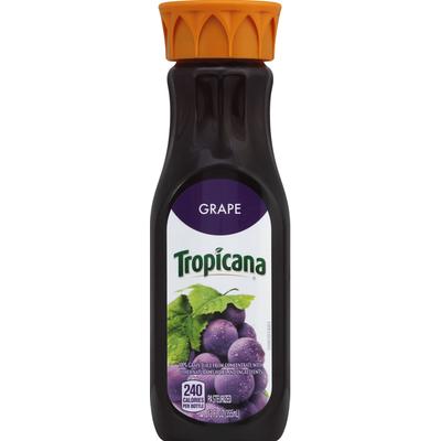 Tropicana 100% Juice, Grape