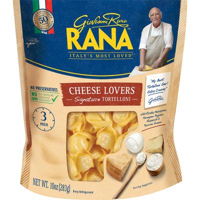 Giovanni Rana Cheese Lovers Tortelloni Refrigerated Pasta