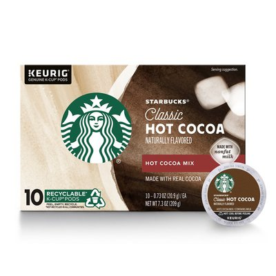 Starbucks Hot Cocoa K-Cup Coffee Pods — Hot Cocoa for Keurig Brewers