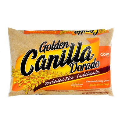 Goya Golden Canilla Extra Long Grain Parboiled Rice