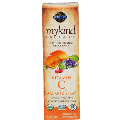 Garden of Life Vitamin C, Organic Spray, Orange-Tangerine