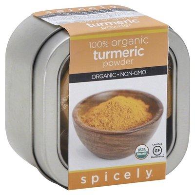 Spicely Organics Turmeric Powder, Organic