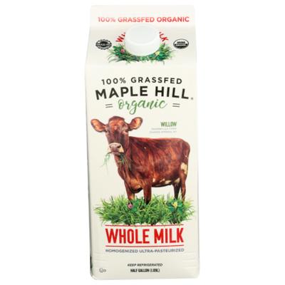 Maple Hill Organic Whole Milk, Organic