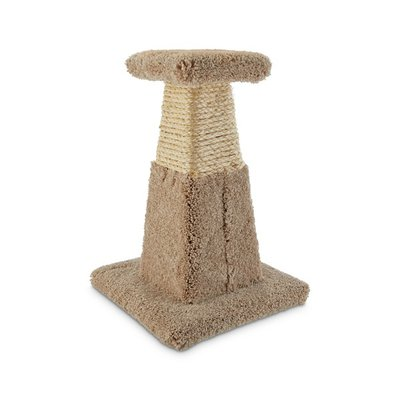 You & Me Pyramid Scratch Post Cat Toy