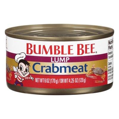 Bumble Bee Crabmeat, Lump