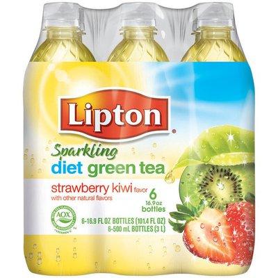 Lipton Diet Iced Green Tea with Strawberry Kiwi