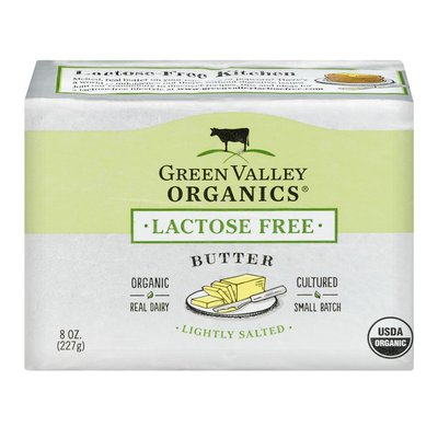 Green Valley Creamery Lactose Free Butter Lightly Salted