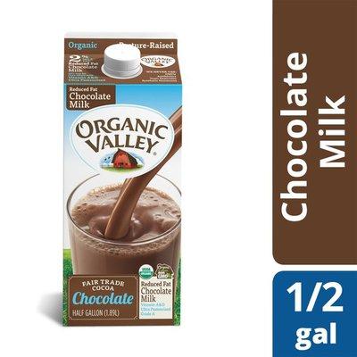 Organic Valley UHT Reduced Fat Chocolate Milk