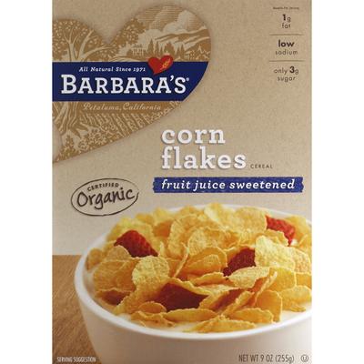 Barbara's Organic Corn Flakes